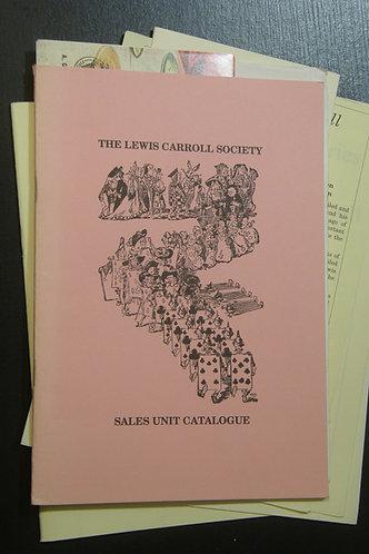 Ephemera from the Lewis Carroll Society
