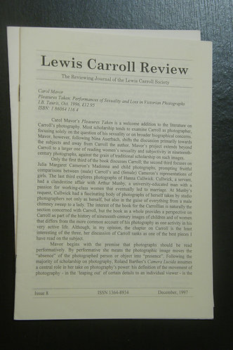 Lewis Carroll Review