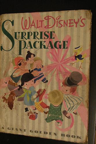 Walt Disney's Surprise Package - A Giant Golden Book