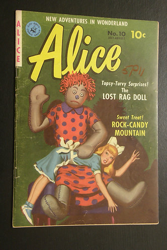 New Adventures in Wonderland - Alice No. 10