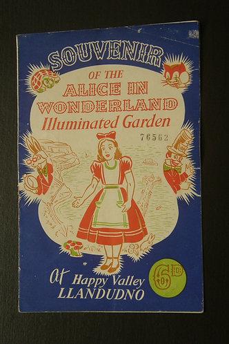 Souvenir of The Alice in Wonderland Illuminated Ga