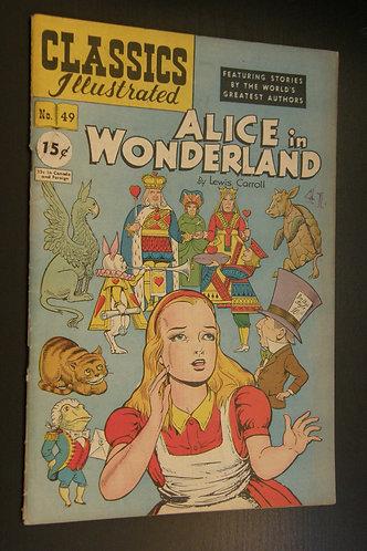 Classic Illustrated Alice in Wonderland