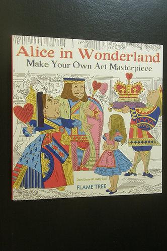 Alice in Wonderland - Make Your Own Art Masterpiece