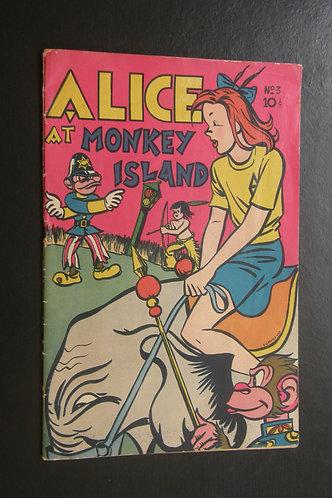 Alice at Monkey Island