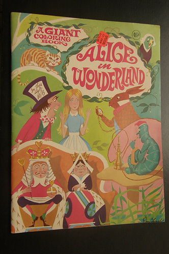 Alice in Wonderland - A Giant Coloring Book