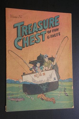 Treasure Chest of Fun & Fact Vol.3 No.1