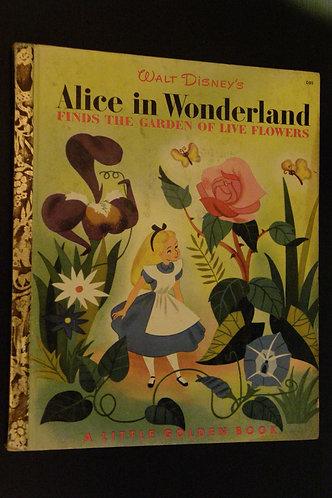 Walt Disney's Alice in Wonderland Finds the Garden of Live Flowers