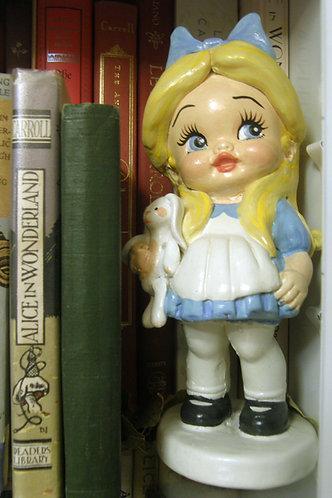 Alice ceramic figure