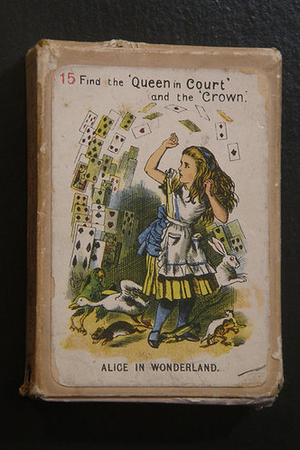 """The New and Diverting Game of """"Alice in Wonderland"""""""