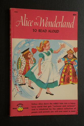 Alice in Wonderland To Read Aloud