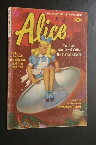New Adventures in Wonderland - Alice No. 11