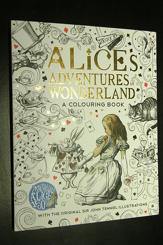 Alice's Adventures in Wonderland - A Colouring Book