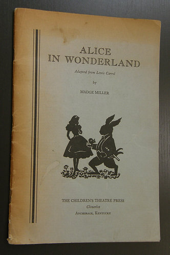Alice in Wonderland - A Play