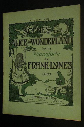 Scenes from Alice in Wonderland for the Pianforte