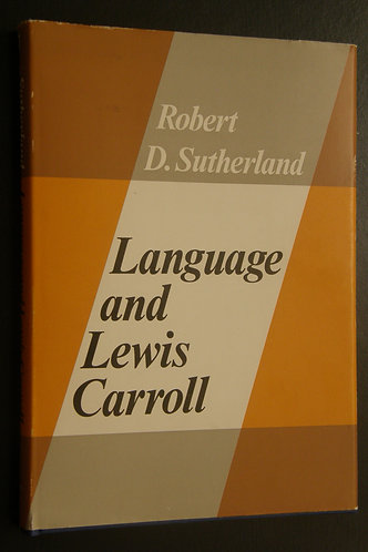 Language and Lewis Carroll