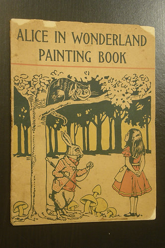 Alice in Wonderland - Painting Book