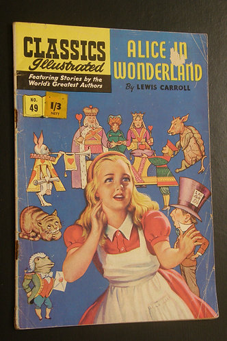 Classic Illustrated Alice in Wonderland