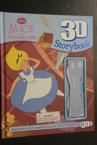 Alice in Wonderland 3D Storybook