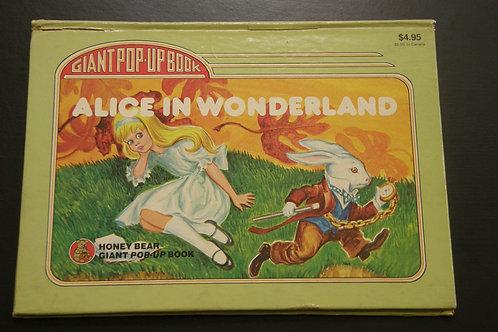 Giant Pop-Up Book Alice in Wonderland