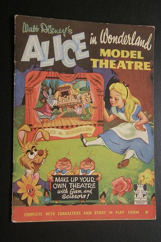 Walt Disney's Alice in Wonderland Theater Model