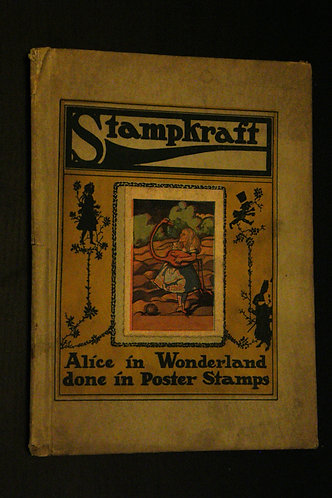 StampKraft Alice in Wonderland done in Poster Stamps