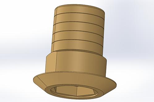 Ti Base 4.1 Hexagono Externo, para hombro extendido