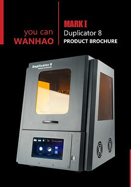 Wanhao D8 – Impresion dental 3D de alta calidad