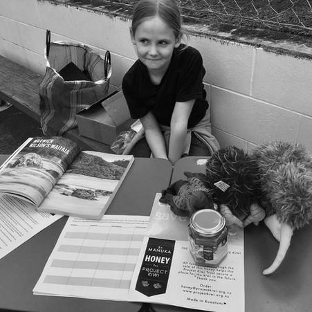 Meet Hana. The sweetest way to save kiwi