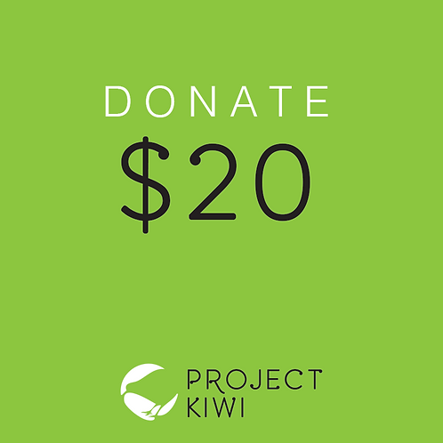 Donate $20 to Project Kiwi Trust