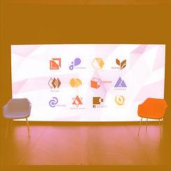 digital sponsor wall LED video wall copy