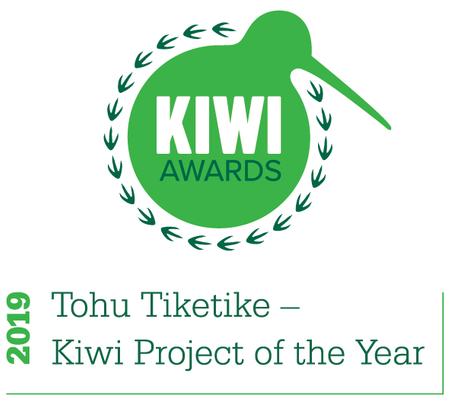 Project Kiwi is awarded Tohu Tiketike- Kiwi Project of the Year 2019