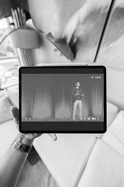 live streaming virtual zoom meeting audi