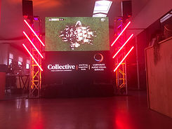 Sports on big screen hire auckland LED w