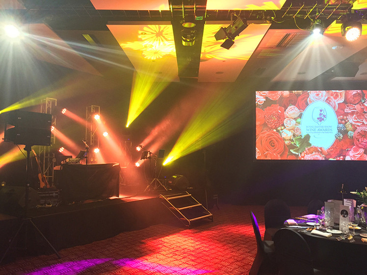Awards Gala Dinner Audio Visual Sound Pr