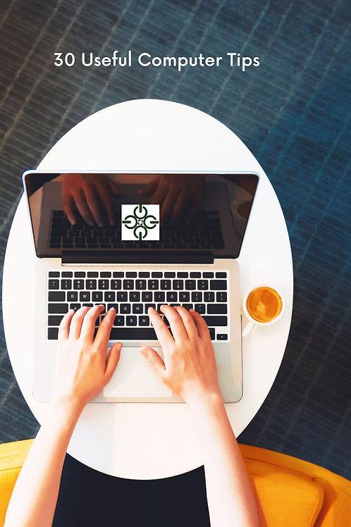 20 Useful Computer Tips