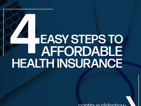 4 Steps to Affordable Healthcare