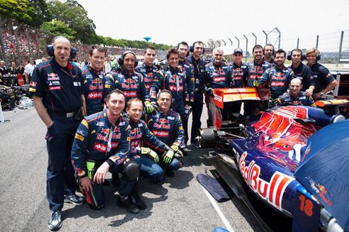 Interlagos 2011 F1 Toro Rosso