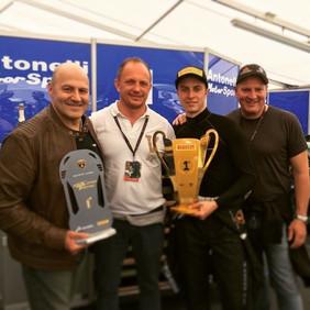 Vittoria a Vallelunga Porsche Carrera Cup Italia