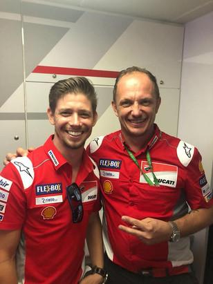 Casey Stoner Jerez 2018
