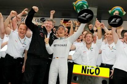 Vittoria Rosberg Cina 2012