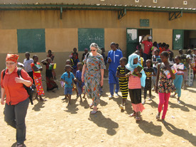 DSHF and AHC Team Up for Education in Senegal.