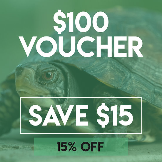 $100 Emerald Scales Voucher