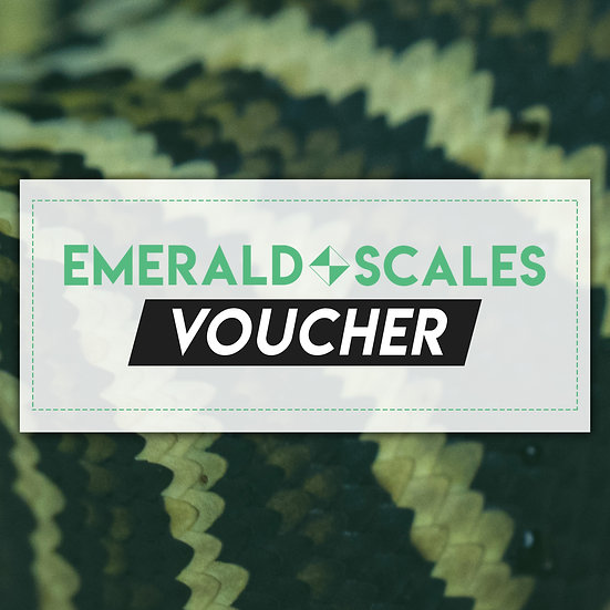 Emerald Scales Gift Voucher ($25 and up)