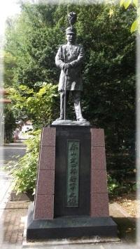 永山武四郎将軍の銅像