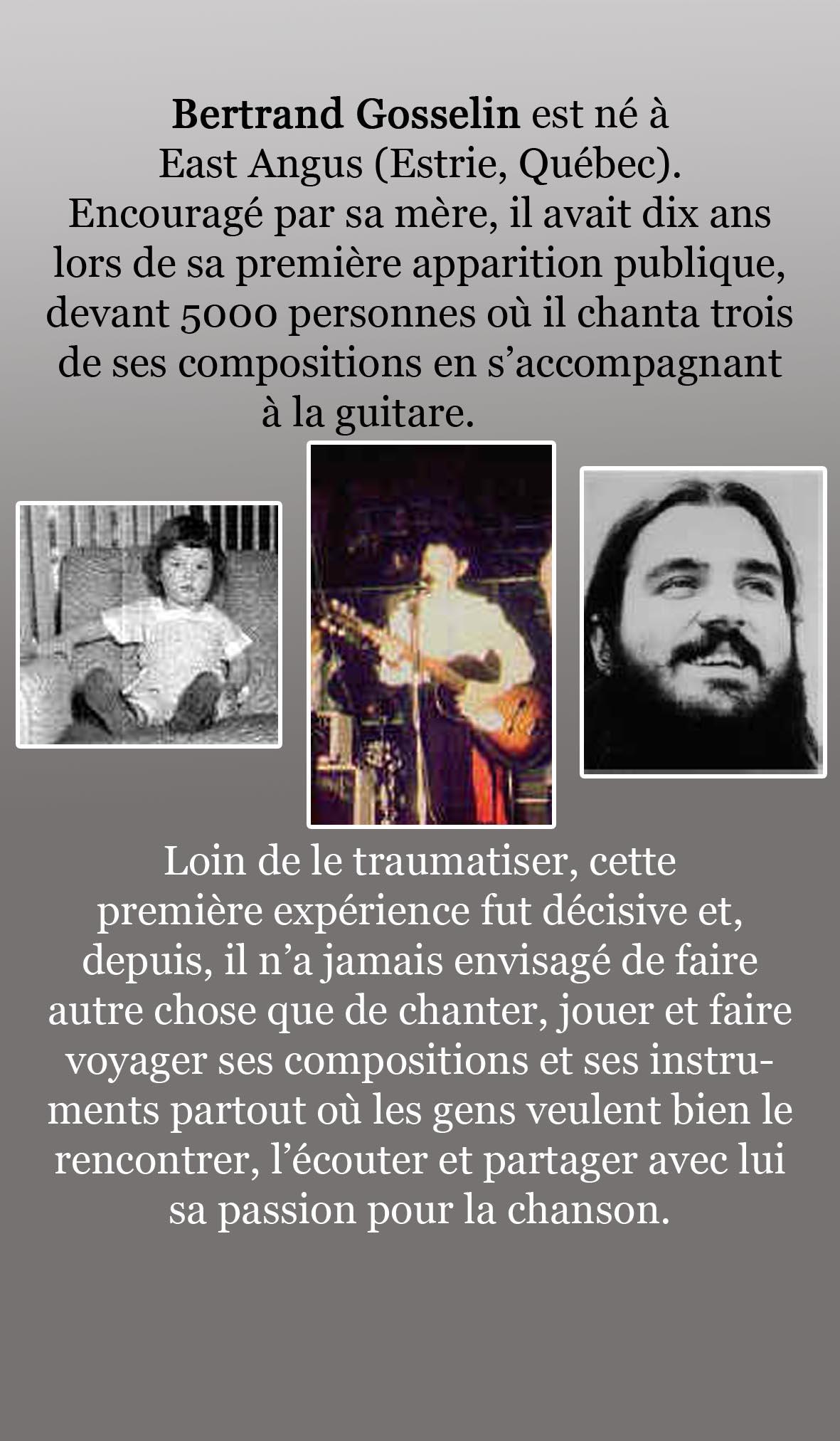 Bio Bertrand Gosselin