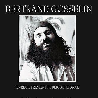 Bertrand Gosselin en spectacle au Signal