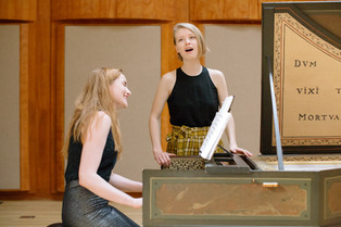Performing at the Longy School of Music