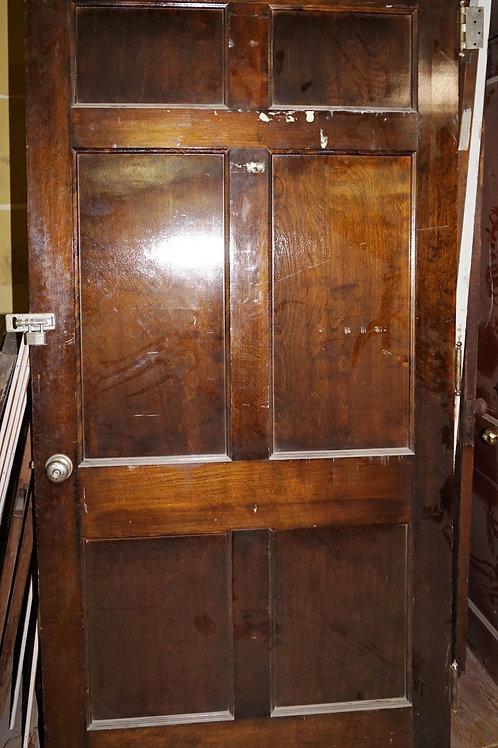 6-Panel Door With Hardware