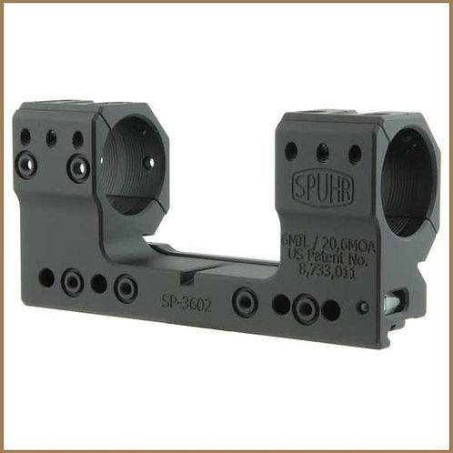 Spuhr Picatinny Montage Ø30 mm / H30 mm - 6 Mil / 20,6 MOA