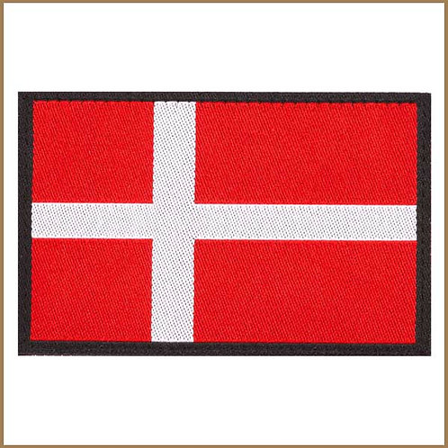 Dannebrog Flag Patch